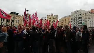 9 de Octubre Manifestación independentistas 2 parte