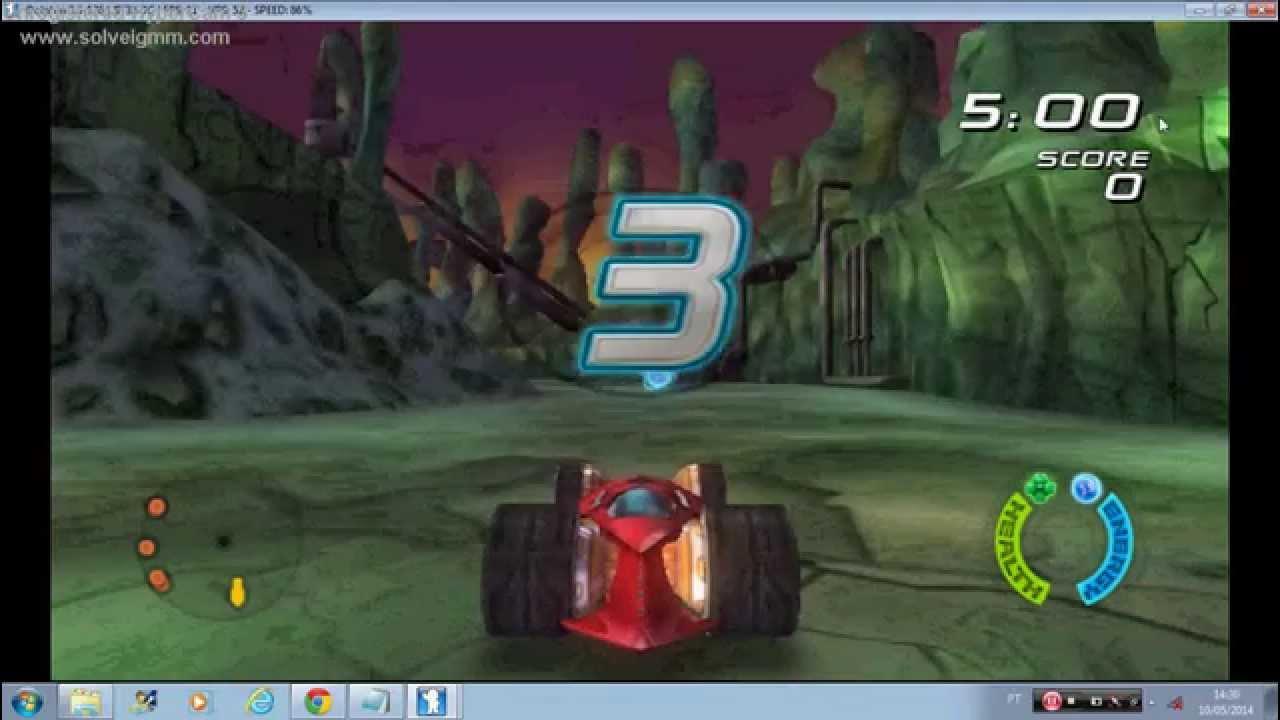 wii emulador hot wheels battle force 5 saber youtube