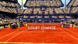Virtua Tennis 3 Gameplay Tournament (PSP)