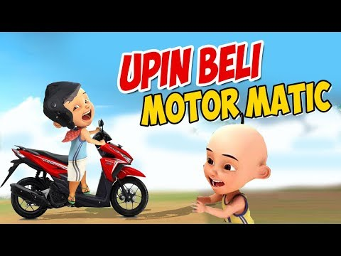 download Upin Ipin Beli motor matic , Ipin senang GTA Lucu