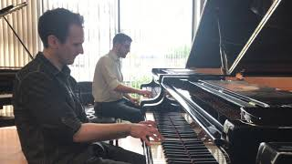 When Jonny May and Kyle Landry Find Each Other in a Piano Store!  (Piano Improvisation)
