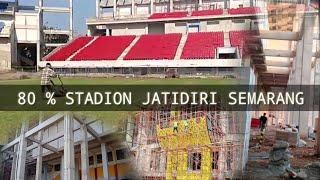 80% pembangunan stadion jatidiri Semarang