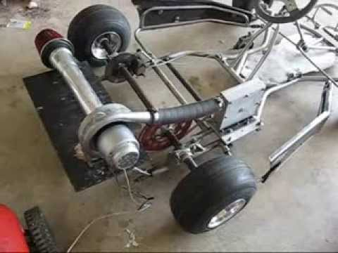 The Kendall Motor Compressed Air Turbine Powered Go Kart
