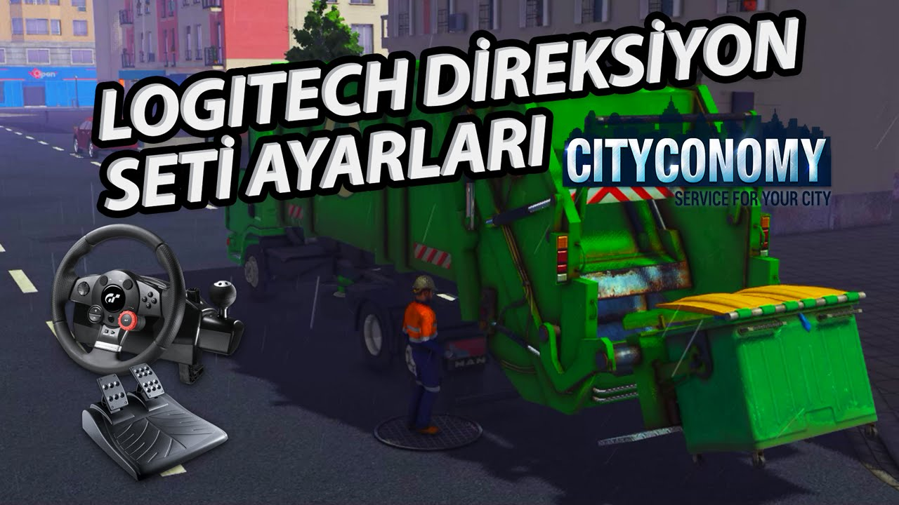 e909583551f Cityconomy Logitech Direksiyon Seti Ayarları ve Testi (Video)