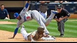 MLB Stealing Home Highlights 2018   Baseball Game Winners