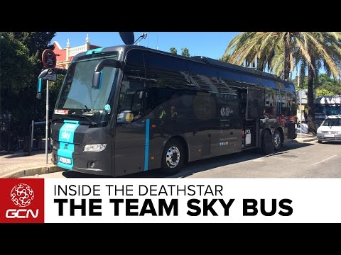 Inside The Team Sky Bus