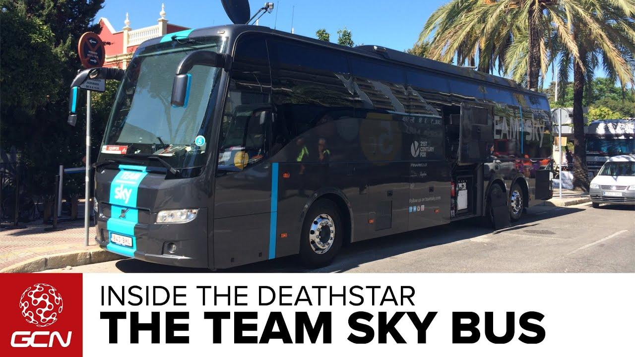 Inside The Team Sky Bus Youtube