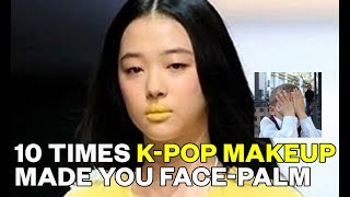 10 times K-Pop makeup made you face-palm