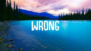 Ryan Riback - Wrong (Lyrics) ft. Olivia Noelle