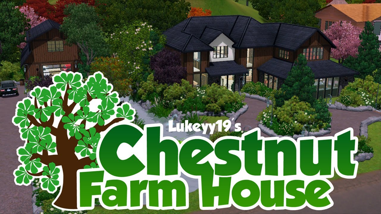 The sims 3 house building chestnut farm house youtube