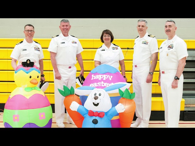 Naval Health Clinic Lemoore COs and CMCs Farewell