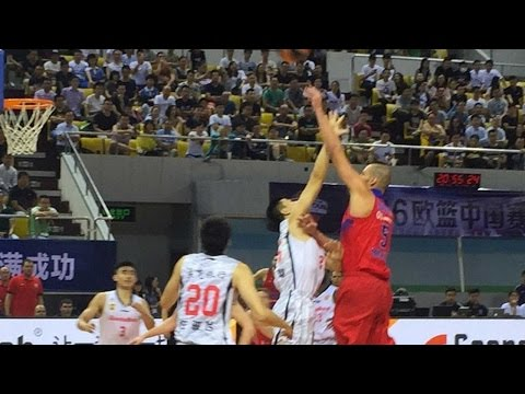 China Tour Highlights: Guangdong Tigers-CSKA Moscow