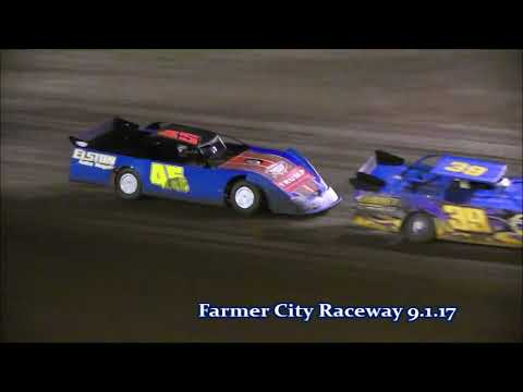 Farmer City Pro Crate Late Model Feature  9 1 17