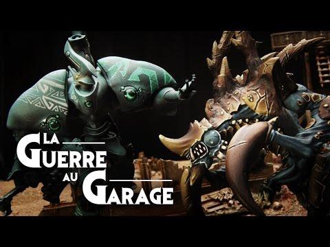 - La Guerre au Garage N°7 - Introduction à Warmachine Hordes