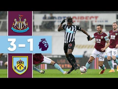 NEWCASTLE HIT 3 | Newcastle v Burnley | Premier League