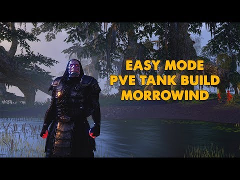 ESO - Easy Tank Build - New and Experienced players - (Morrowind Update)