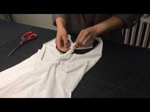 DIY Braided T-Shirt