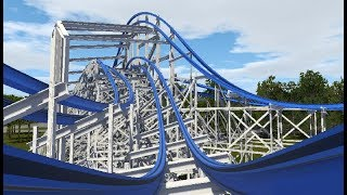 Kings Island Racer - RMC Roller Coaster Conversion Concept