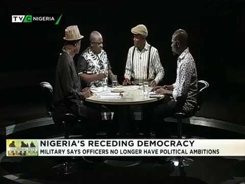 Journalists' Hangout March 10 2018   Nigeria's receding democracy