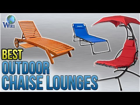 10 Best Outdoor Chaise Lounges 2018