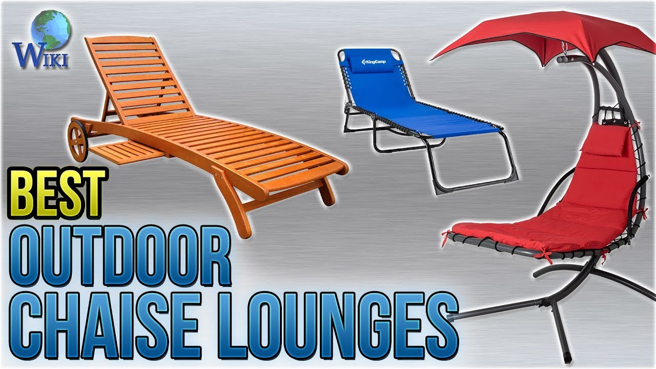 10 Best Outdoor Chaise Lounges 2018 Youtube