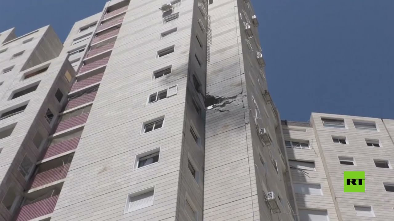 الإسرائيليون يهربون إلى الملاجئ لحظة انطلاق صفرات الإنذار  - نشر قبل 3 ساعة