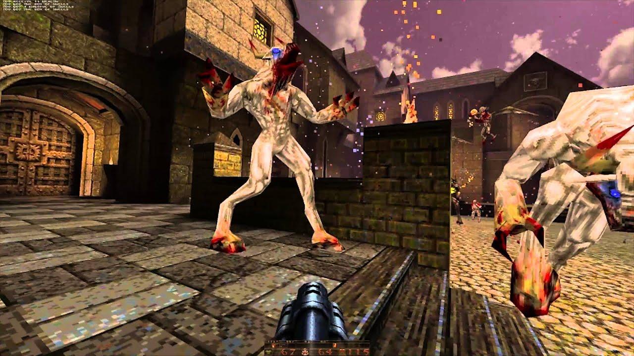 Quake: Arcane Dimensions - Remaining Test Maps (100% Nightmare)