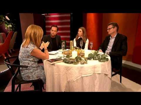 Champagnelunch: Per Schlingmann, Ann Wilson och Andreas Carlsson