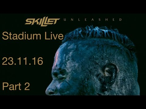Skillet @ Stadium Live, Moscow 23.11.16 (Part 2)