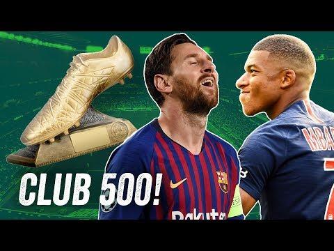 Club 500: Wer knackt die 500-Tore-Marke nach Messi, Cristiano Ronaldo etc.? Onefootball Top 5