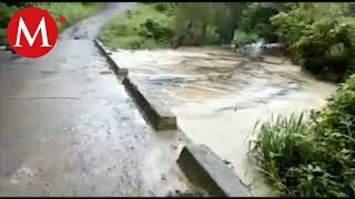 Derrame de petróleo contamina río de Venustiano Carranza