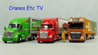 WSI Peterbilt, Kenworth, DAF - Paccar Brand Box by Cranes Etc TV