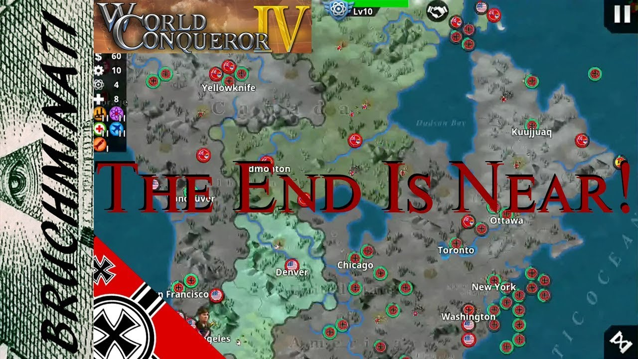 World Conqueror 4 | Germany 1939 Conquest #11 US And Canada Taking A  Beating!