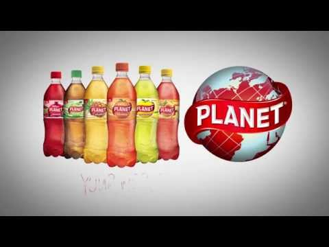 Carbonated soft drink PLANET