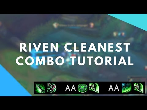 Riven Cleanest One-Shot Combo (Done by BoxBox) Tutorial - Riven Guide #6