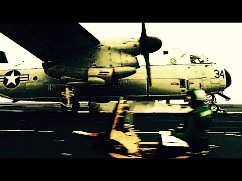 Catapult LAUNCHES & arrested LANDINGS of C-2A GREYHOUNDS on FLIGHT DECK of Supercarrier USS Nimitz!