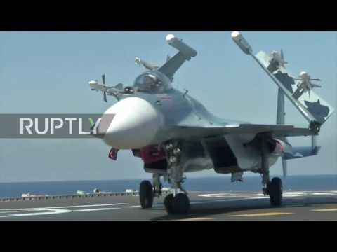 Syria: Large scale Russian navy operation begins against anti gov. forces