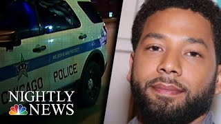 Officers Say Empire Actor Jussie Smollett Refuses To Hand Over Cell Phone  NBC Nightly News