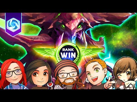 RANK WIN! | Heroes of the Storm | MFPallytime, Mewnfare, Rentaro, ggMarche & Starbee