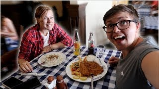 Trying Slovakian Food For The First Time In A Traditional Slovakian Pub