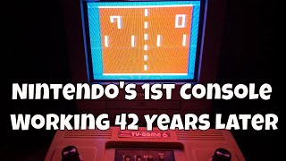 Nintendo's First Console Worĸing Great 42 Years Later!