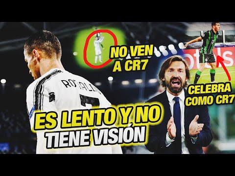 Cristiano Ronaldo se DESESPERA – Pirlo: Arthur NO tiene Visión y es Lento  (No ven a CR7)