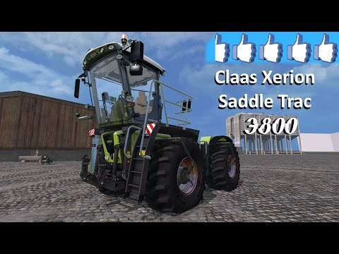claas xerion 4000 saddletrac fs 15 doovi. Black Bedroom Furniture Sets. Home Design Ideas