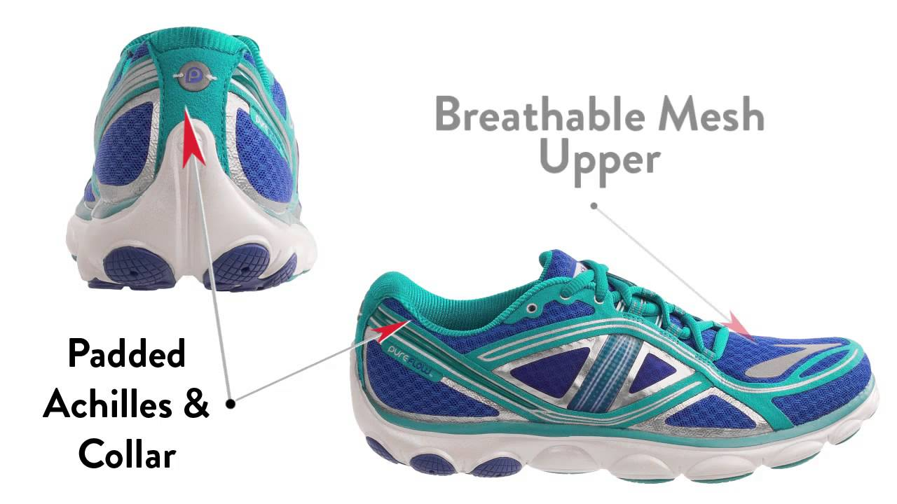 22d367450c9 Brooks Pureflow 3 Running Shoes (For Women) - YouTube