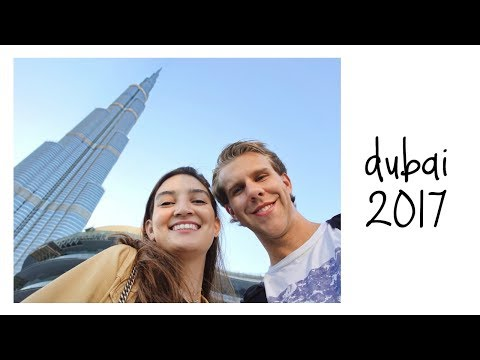 DUBAI TRAVEL DIARY // burj khalifa (tallest building in the world!!), jumeirah beach, dubai mall