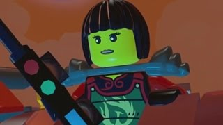 LEGO Ninjago: Shadow of Ronin Walkthrough Part 8 - Ninjago City & The Storm Farms (3DS/Vita)