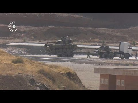 Iraq & Iran rattle sabres in military exercise near Kurdish border