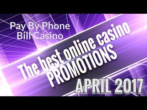 Best Online Casino Promotions - April 2017