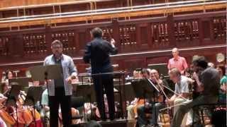 Thomas Hampson - rehearsal Smetana´s Litomyšl Festival