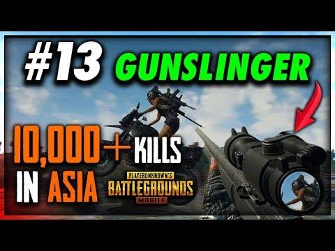 PUBG MOBILE | AIRDROP HUNTING :) Only Chicken Dinner..... #GUNSLINGER 10,000 KILLS IN ASIA SERVER 😍